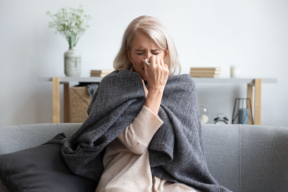 Cold and Flu Season and Older Adults
